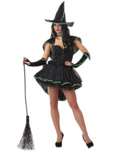 Hexe Magierin Zauberin Damenkostüm