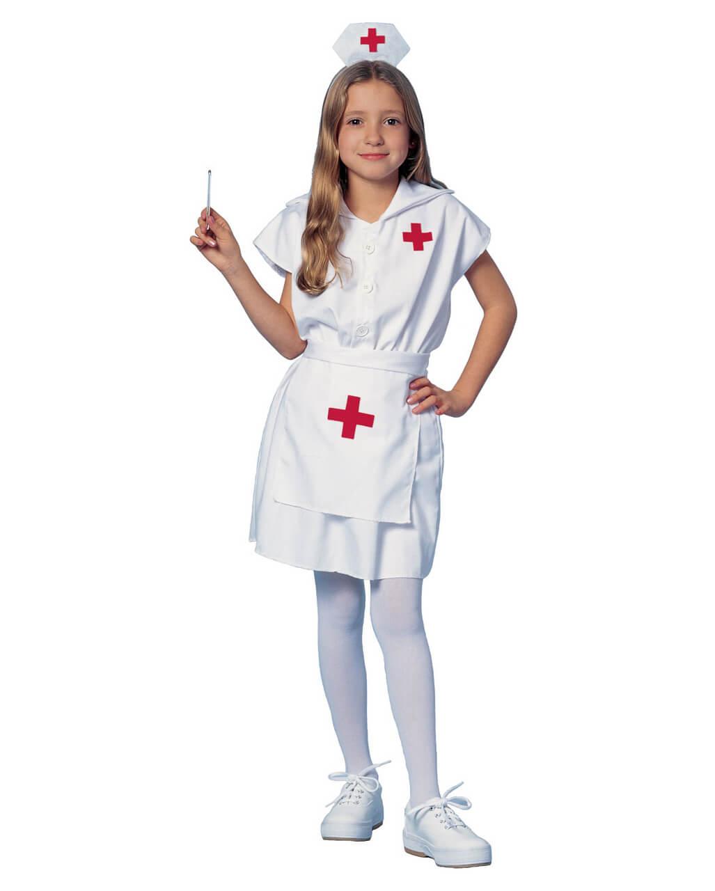 Krankenschwester Kinderkostüm