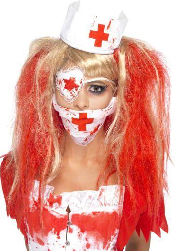 Blutiges Krankenschwester Set